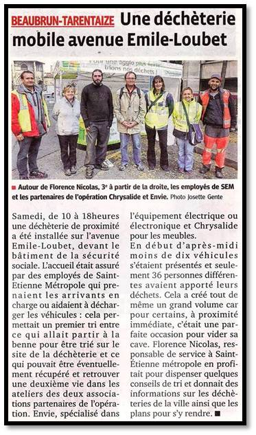 article dechet mobile